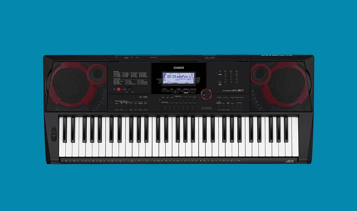 Claviers & Pianos - CLAVIERS - CLAVIERS ARRANGEURS - CASIO - CT-X3000 - Royez Musik