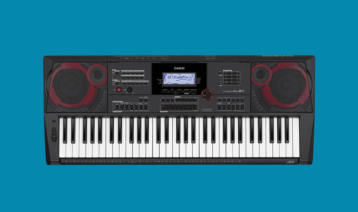 Claviers & Pianos - CLAVIERS - CLAVIERS ARRANGEURS - CASIO - CT-X5000 - Royez Musik