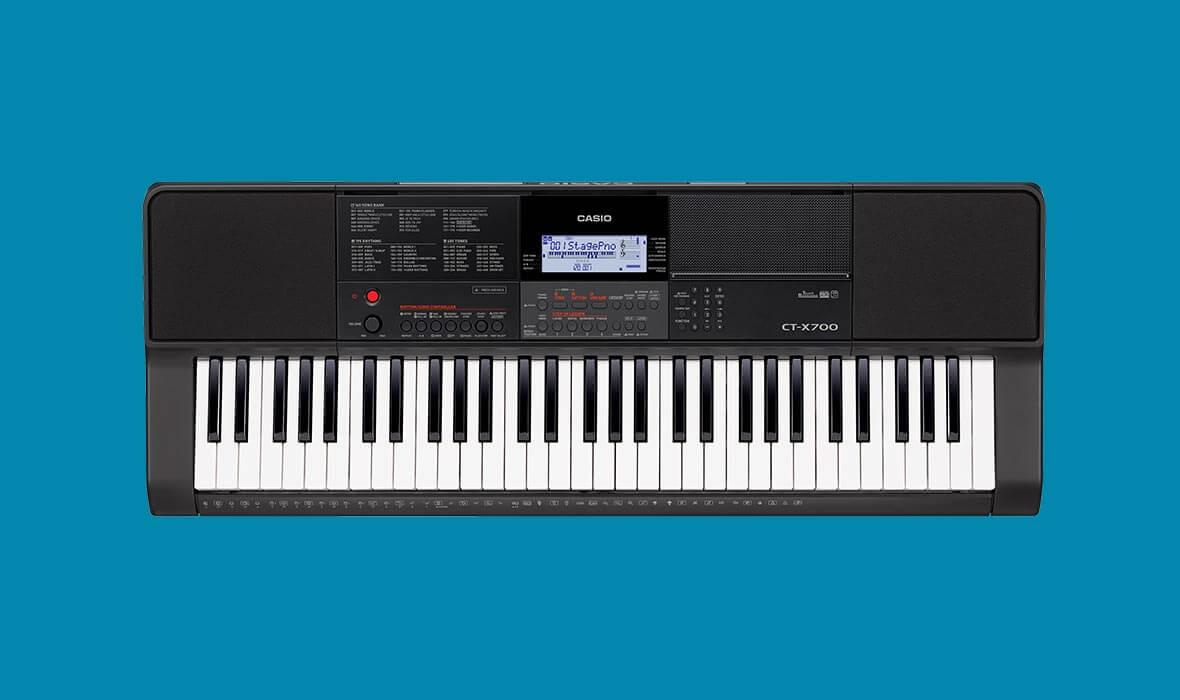Claviers & Pianos - CLAVIERS - CLAVIERS ARRANGEURS - CASIO - CT-X700 - Royez Musik
