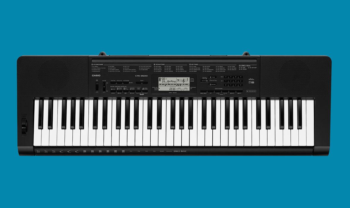 Claviers & Pianos - CLAVIERS - CLAVIERS ARRANGEURS - CASIO - CTK-3500 - Royez Musik