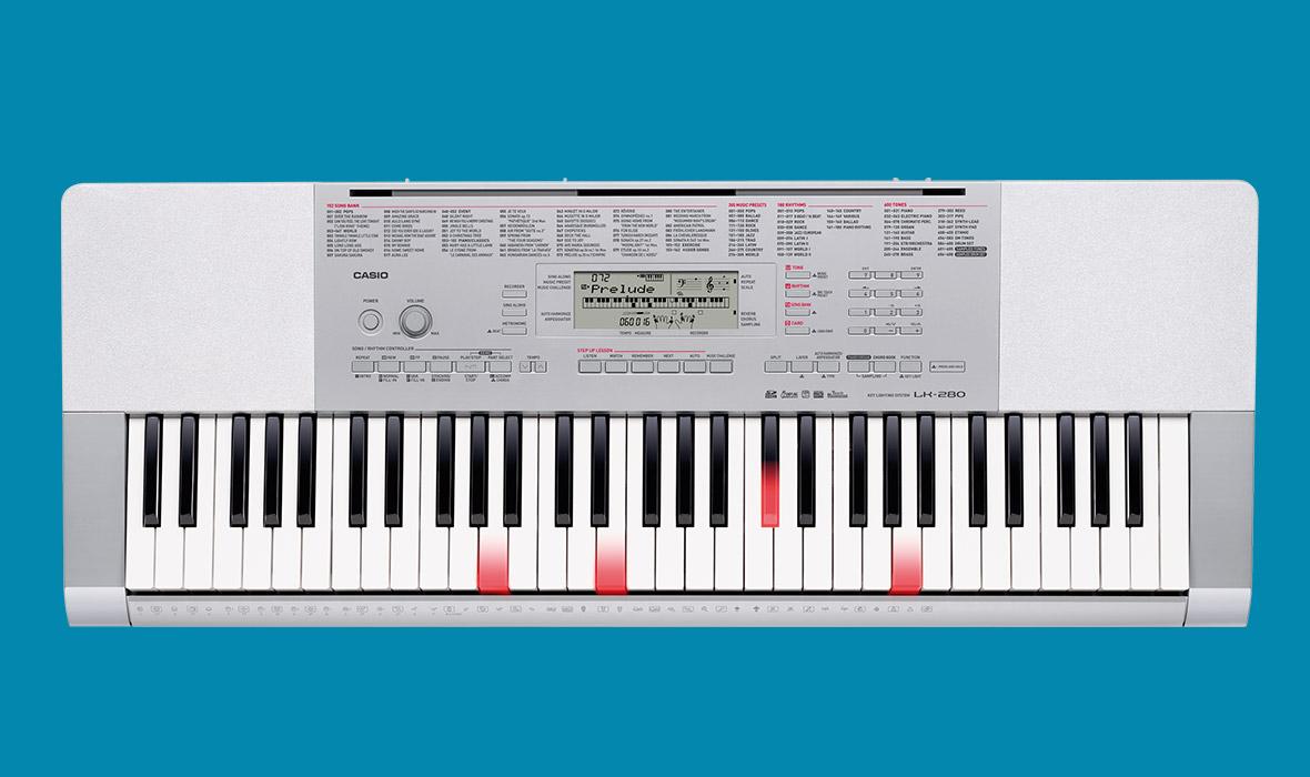 Claviers & Pianos - CLAVIERS - CLAVIERS ARRANGEURS - CASIO - LK-280 - Royez Musik