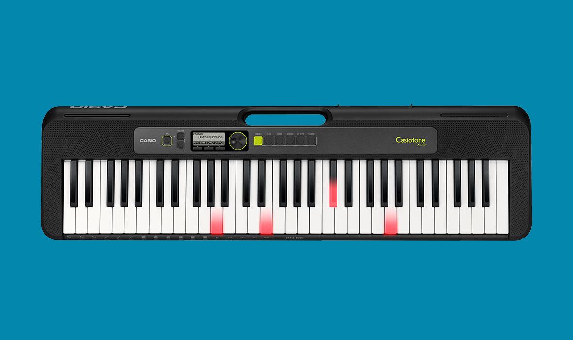 Claviers & Pianos - CLAVIERS - CLAVIERS ARRANGEURS - CASIO - LK-S250 - Royez Musik