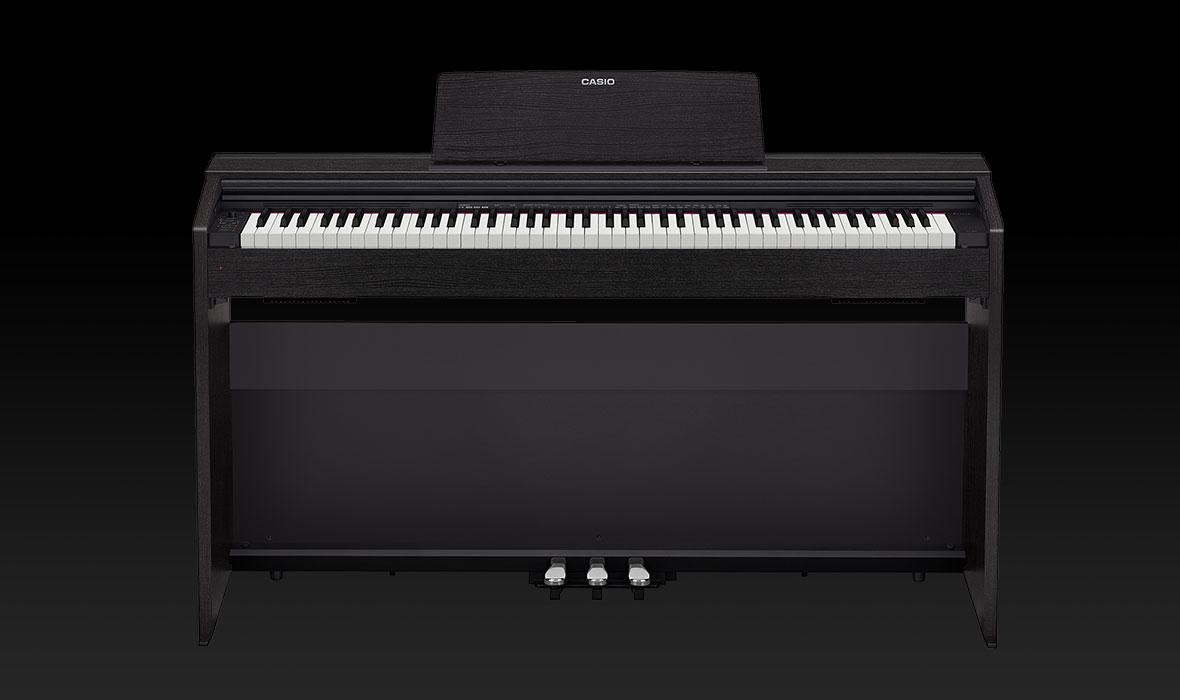 Claviers & Pianos - PIANOS NUMERIQUES - MEUBLE - CASIO - PX-870BK - Royez Musik