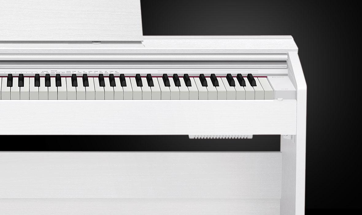 Claviers & Pianos - PIANOS NUMERIQUES - MEUBLE - CASIO - PX-870WE - Royez Musik