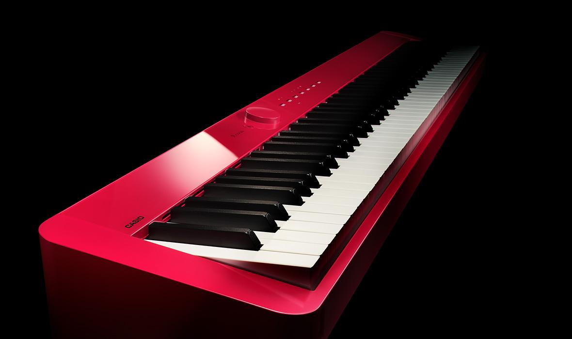 Claviers & Pianos - PIANOS NUMERIQUES - PORTABLE - CASIO - PX-S1000RD - Royez Musik