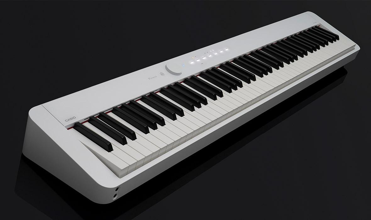 Claviers & Pianos - PIANOS NUMERIQUES - PORTABLE - CASIO - PX-S1000WE - Royez Musik
