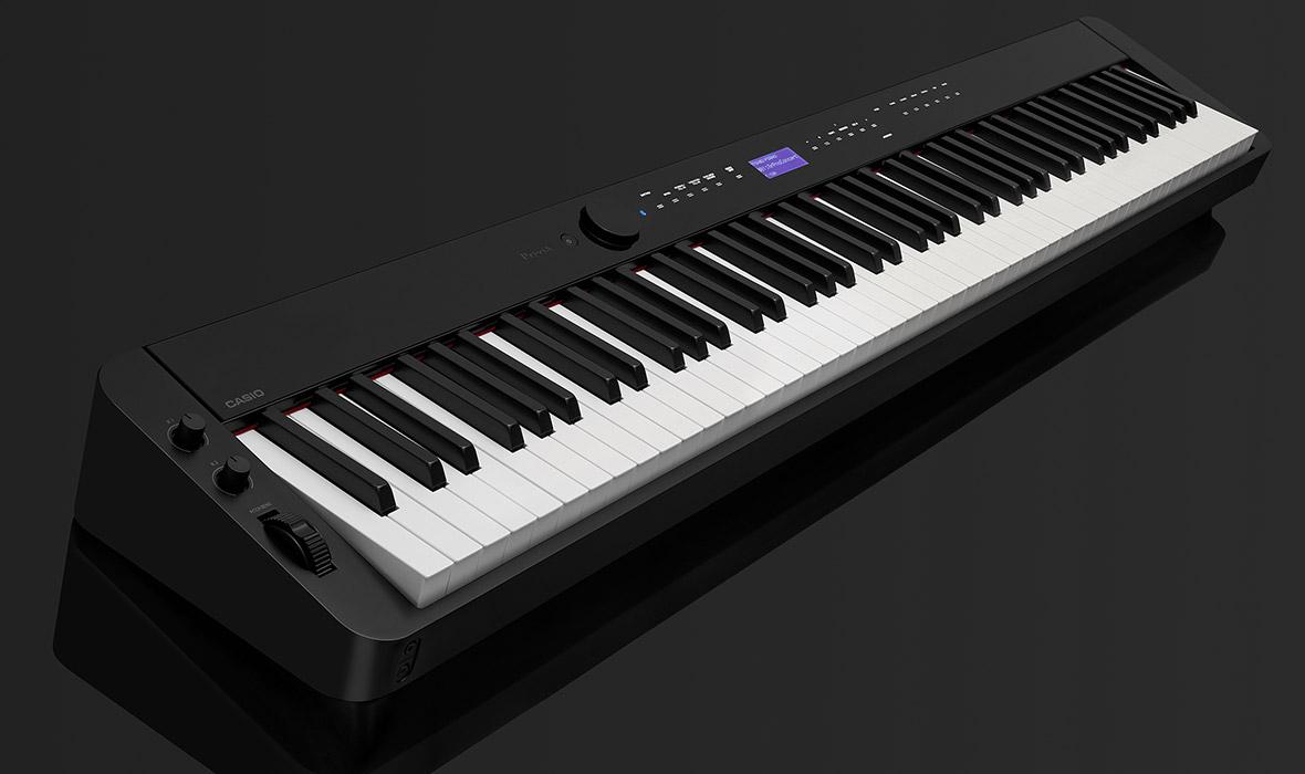 Claviers & Pianos - PIANOS NUMERIQUES - PORTABLE - CASIO - PX-S3000BK - Royez Musik