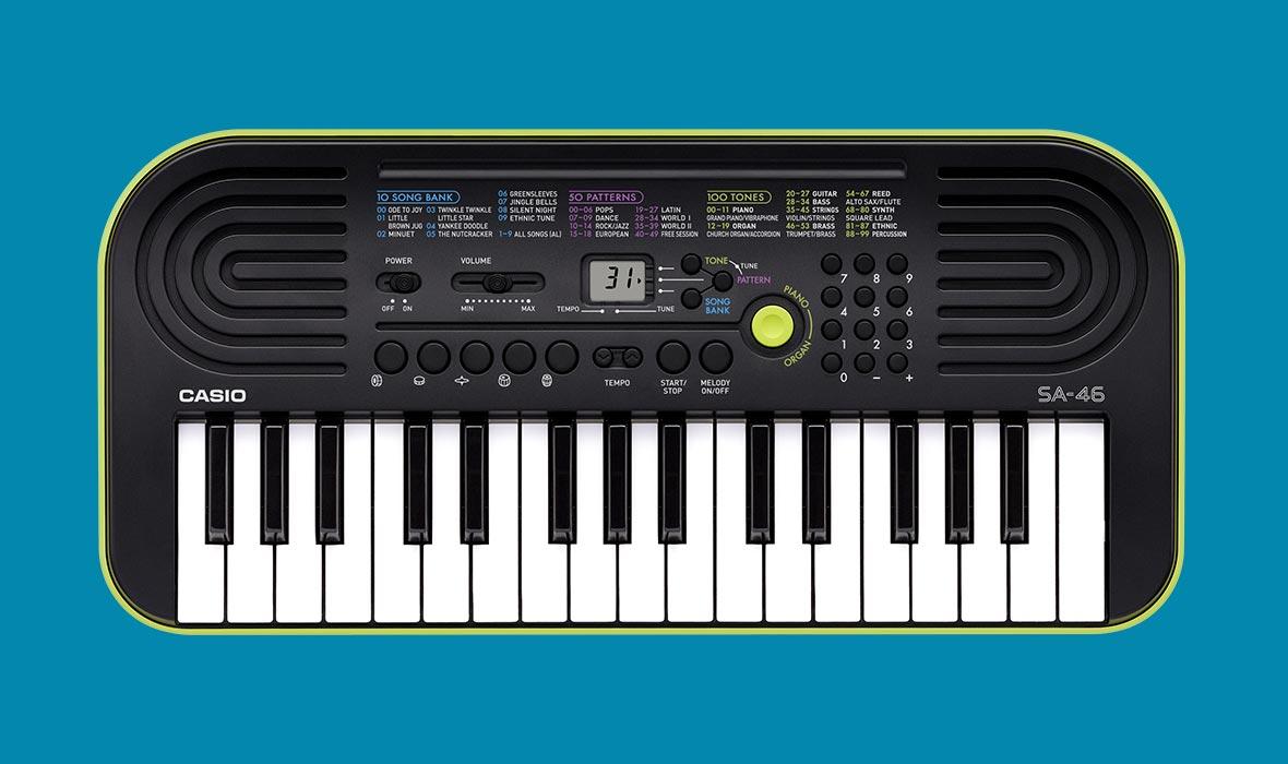 Claviers & Pianos - CLAVIERS - MINI CLAVIERS - CASIO - SA-46 - Royez Musik