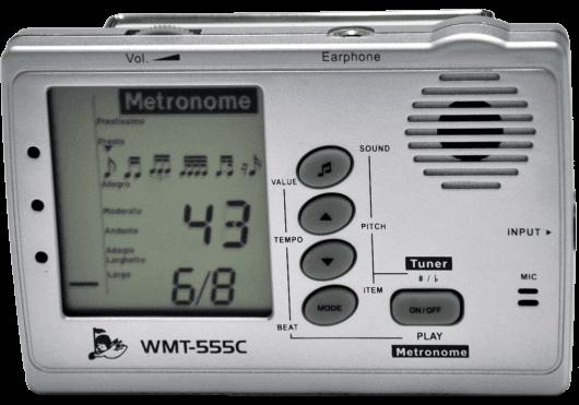 Accessoires - ACCORDEURS & METRONOMES - ACCORDEUR/MÉTRONOME - Cherub - ECH WMT-555C - Royez Musik