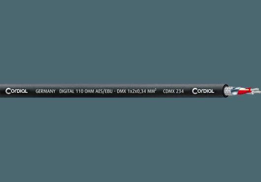 Accessoires - BOBINES DE CÂBLE - DMX - Cordial - ECL CDMX234-100 - Royez Musik