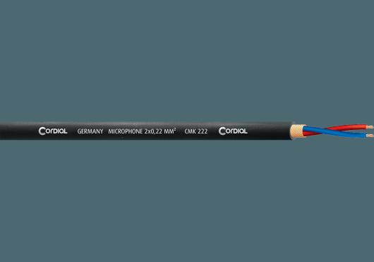 Accessoires - BOBINES DE CÂBLE - MICROPHONE - Cordial - ECL CMK222BLACK500 - Royez Musik