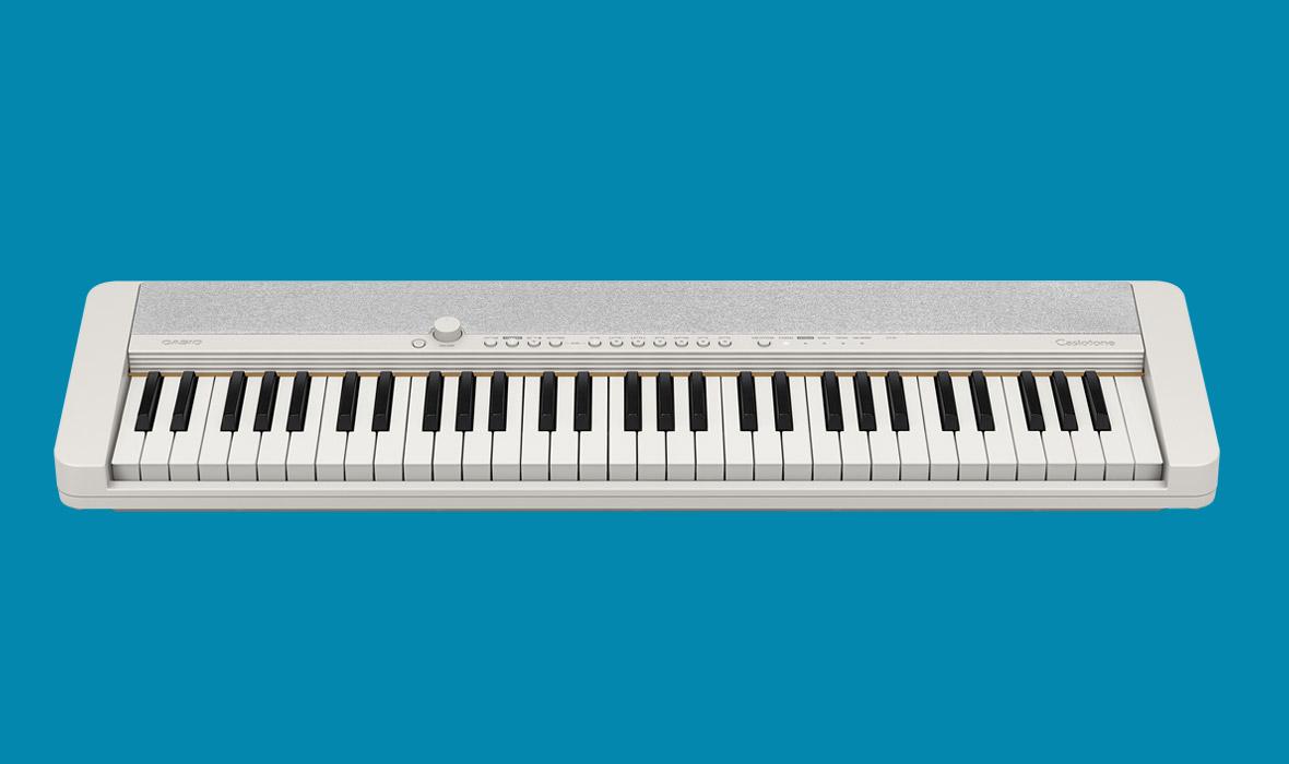 Claviers & Pianos - CLAVIERS - CLAVIERS ARRANGEURS - CASIO - CT-S1 WE - Royez Musik
