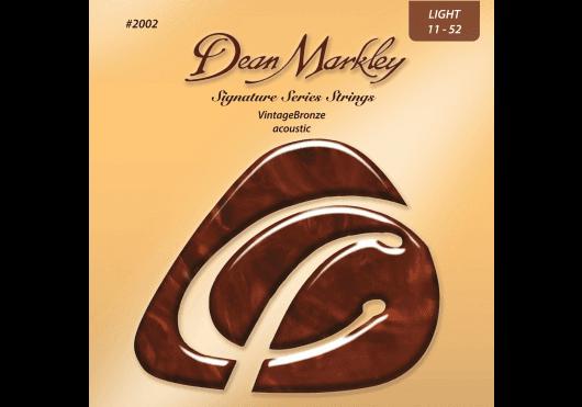 Cordes - CORDES GUITARES ACOUSTIQUES - JEU COMPLET - Dean Markley - CDM 2002A - Royez Musik