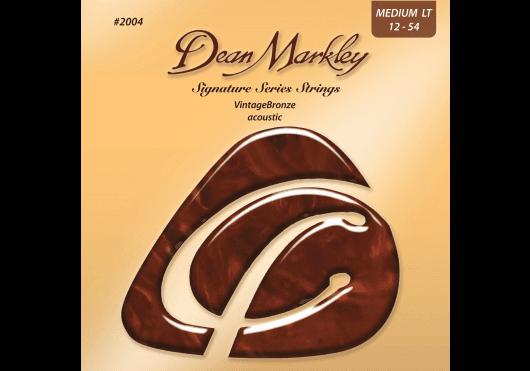 Cordes - CORDES GUITARES ACOUSTIQUES - JEU COMPLET - Dean Markley - CDM 2004A - Royez Musik