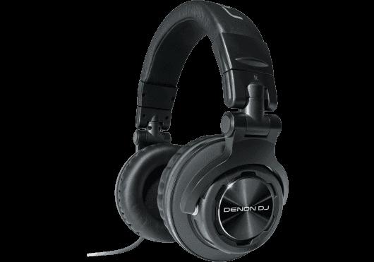 Audio - CASQUES, ECOUTEURS, EAR MONITOR - CASQUES - Denon DJ - DDE HP1100 - Royez Musik
