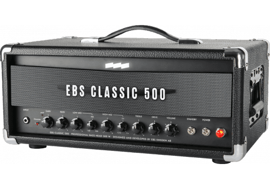 Amplis effets - AMPLIS - GUITARES BASSES - EBS - MEB CLASSIC-500 - Royez Musik