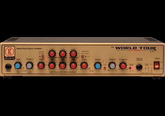Amplis effets - AMPLIS - GUITARES BASSES - HYBRIDE - EDEN - MDE WT800 - Royez Musik