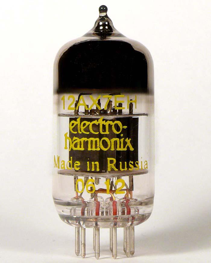 Amplis effets - PIÈCES DÉTACHÉES - LAMPES - ELECTRO-HARMONIX - EHX12AX - Royez Musik
