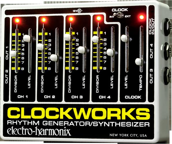 Amplis effets - FOOTSWITCH - ELECTRO-HARMONIX - EHXCLO - Royez Musik