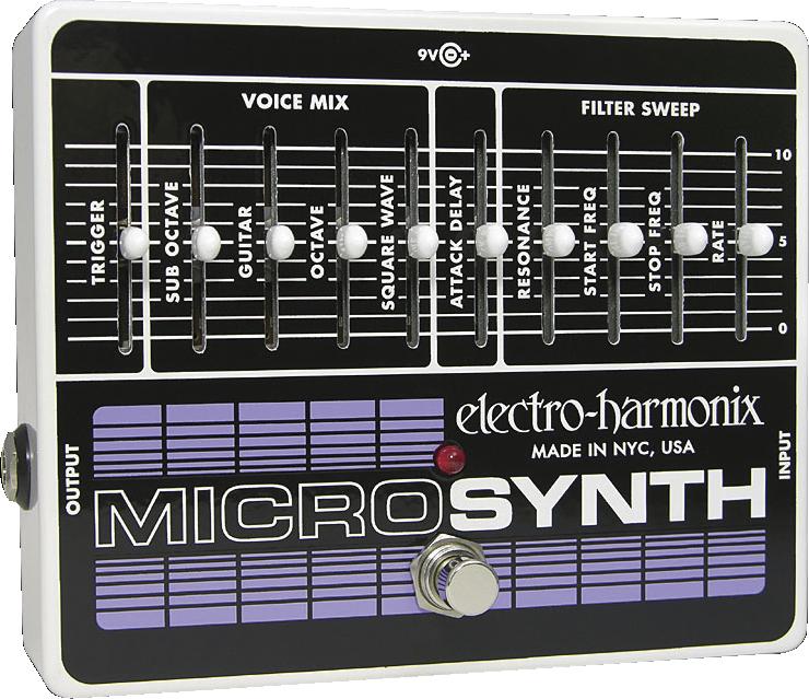 Amplis effets - EFFETS ET MULTI-EFFETS - ELECTRO-HARMONIX - EHXMICR - Royez Musik
