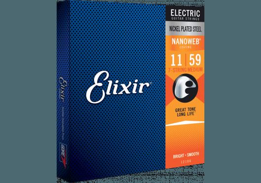Cordes - CORDES GUITARES ELECTRIQUES - 7 CORDES - Elixir - CEL 12106 - Royez Musik