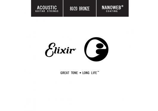 Cordes - CORDES GUITARES ACOUSTIQUES - A L'UNITE - Elixir - CEL 13011 - Royez Musik