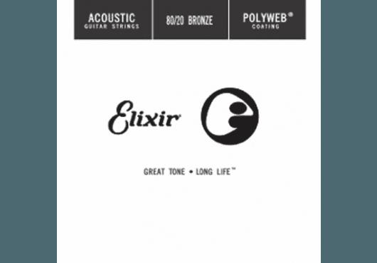 Cordes - CORDES GUITARES ACOUSTIQUES - A L'UNITE - Elixir - CEL 13147 - Royez Musik