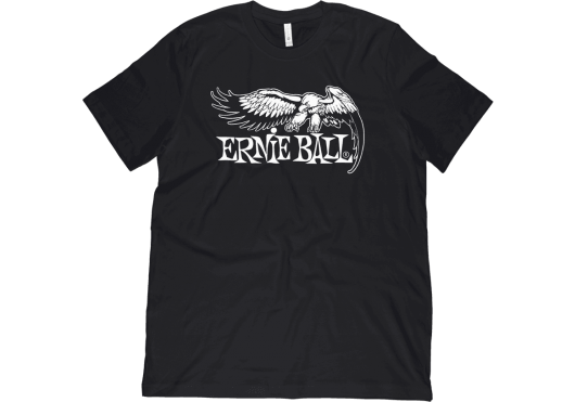 Merchandising - TEXTILE - TEE-SHIRT - ERNIE BALL - YERN TS01-H-BK-S - Royez Musik