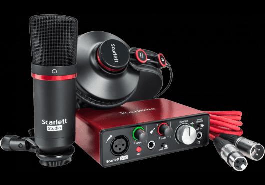Audio - INTERFACES - INTERFACES AUDIO - Focusrite - RFO SCARLETT2-SOLO-STUDIO - Royez Musik