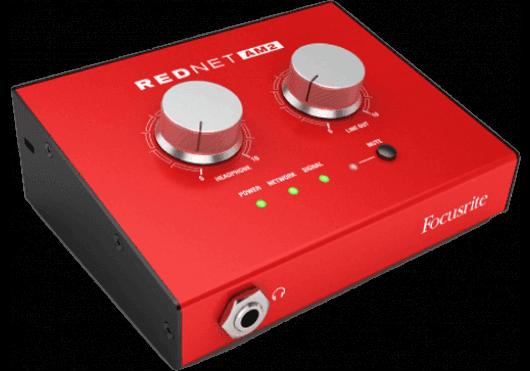 Audio - INTERFACES - AUDIO SUR IP - Focusrite - RFR REDNET-AM2 - Royez Musik