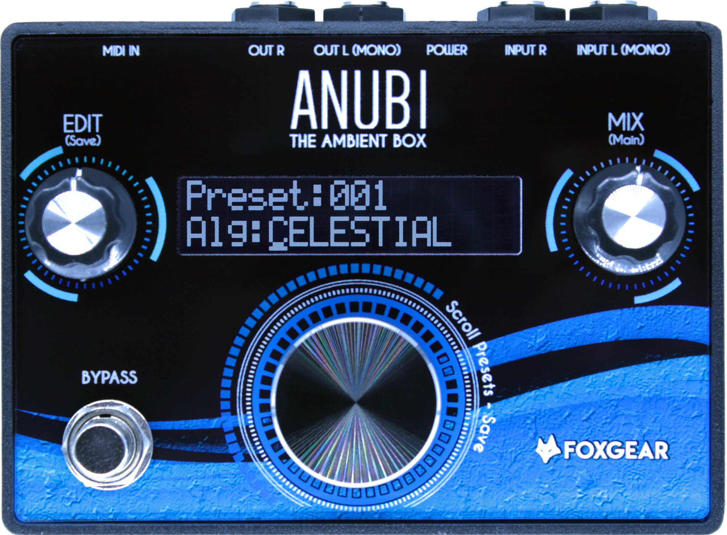 Amplis effets - EFFETS ET MULTI-EFFETS - FOXGEAR - FGANAMB - Royez Musik