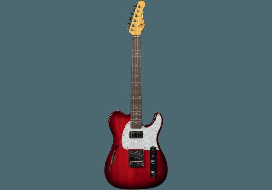Guitares & Co - GUITARES ELECTRIQUES - GUITARES SEMI-HOLLOW BODY - G&L - GGL TASCBSH-RDB-R - Royez Musik