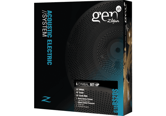 Batteries & Percussions - CYMBALES - PACKS DE CYMBALES - Gen16 - PGE BS2DS - Royez Musik