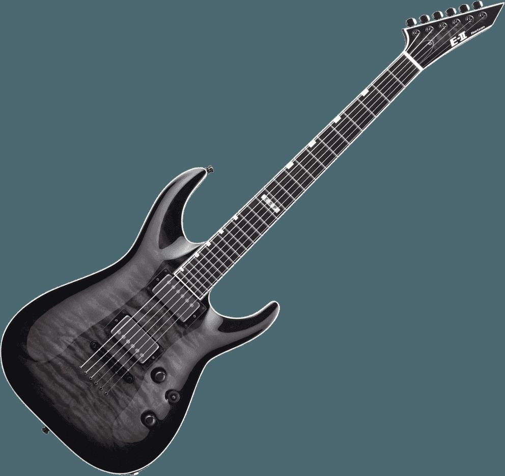 Guitares & co - GUITARES ELECTRIQUES - GUITARES SOLID BODY - ESP - GEV 2HORI2NT-STBK - Royez Musik