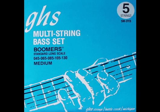 Cordes - CORDES GUITARES BASSES - 5 CORDES - GHS - CGH 5MDYB - Royez Musik
