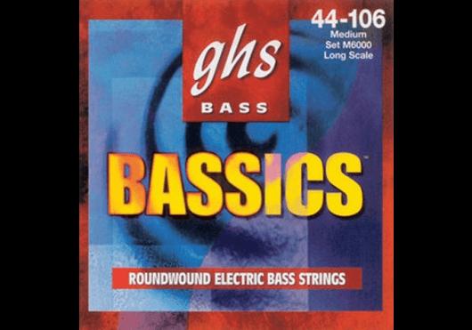 Cordes - CORDES GUITARES BASSES - 4 CORDES - GHS - CGH 6000L - Royez Musik