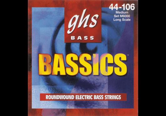 Cordes - CORDES GUITARES BASSES - 4 CORDES - GHS - CGH 6000M - Royez Musik