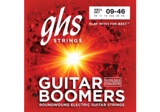 Cordes - CORDES GUITARES ELECTRIQUES - 7 CORDES - GHS - CGH GBCL - Royez Musik
