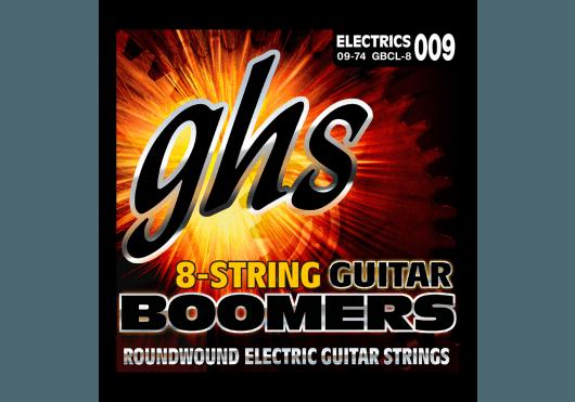 Cordes - CORDES GUITARES ELECTRIQUES - 6 CORDES - GHS - CGH GBCL-8 - Royez Musik