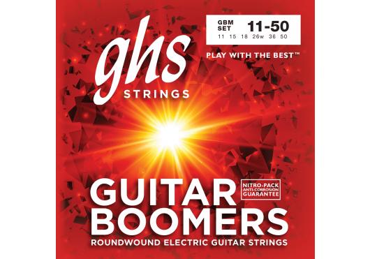 Cordes - CORDES GUITARES ELECTRIQUES - 6 CORDES - GHS - CGH GBM - Royez Musik