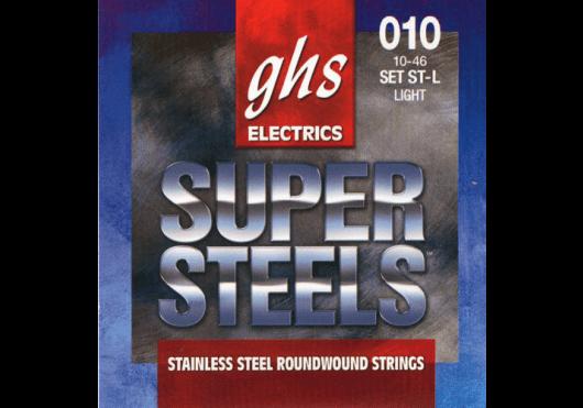 Cordes - CORDES GUITARES ELECTRIQUES - 6 CORDES - GHS - CGH ST-L - Royez Musik