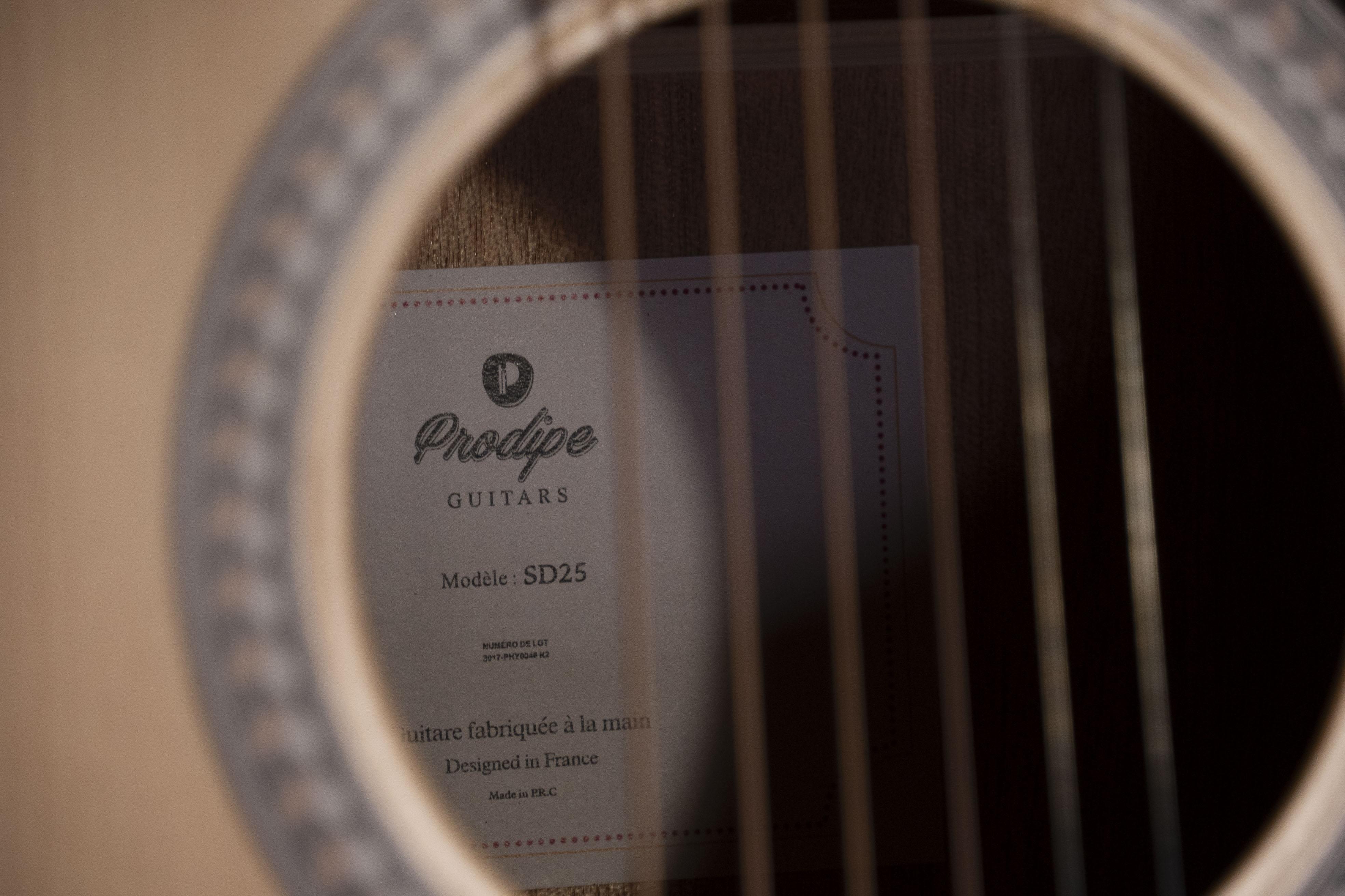 Guitares & co - GUITARES ACOUSTIQUES - 6 CORDES - Prodipe - Guitare SD25 Prodipe - Royez Musik