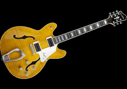 Guitares & Co - GUITARES ELECTRIQUES - GUITARES SEMI-HOLLOW BODY - Hagstrom - GHE SUVIK-DDL - Royez Musik