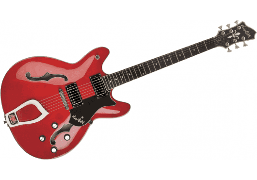 Guitares & Co - GUITARES ELECTRIQUES - GUITARES SEMI-HOLLOW BODY - Hagstrom - GHE VIK-WCT - Royez Musik