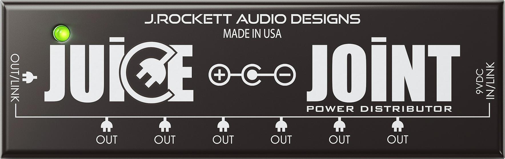 Amplis effets - ALIMENTATION & PILES - J. ROCKETT AUDIO DESIGNS - ROCJUI - Royez Musik