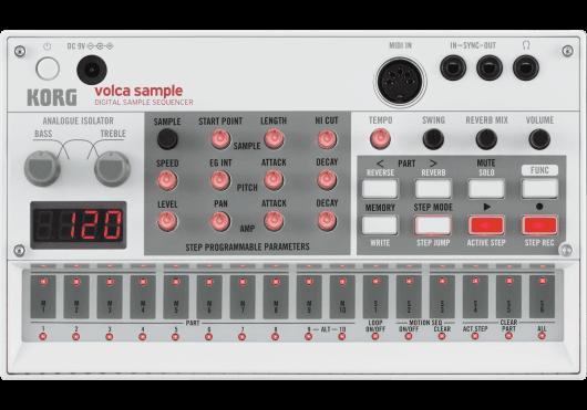 Audio - MACHINES - MODULES ANALOGIQUES & NUMÉRIQUES - Korg - DKO VOLCA-SAMPLE - Royez Musik
