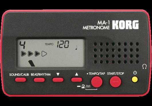 Accessoires - ACCORDEURS & METRONOMES - MÉTRONOME - Korg - EKO MA-1BKRD - Royez Musik