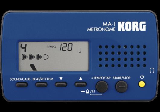 Accessoires - ACCORDEURS & METRONOMES - MÉTRONOME - Korg - EKO MA-1BLBK - Royez Musik