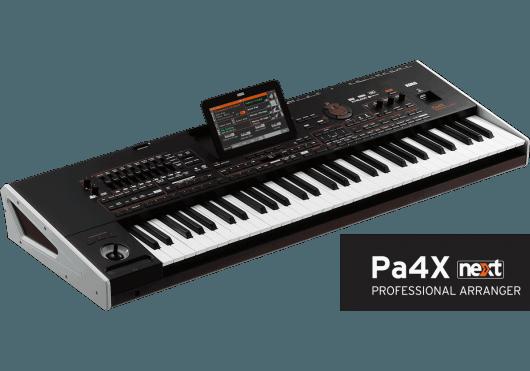 Claviers & Pianos - CLAVIERS ARRANGEURS - Korg - KOC PA4X-76 - Royez Musik