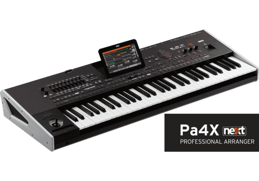 Claviers & Pianos - CLAVIERS ARRANGEURS - Korg - KOC PA4XOR-61 - Royez Musik